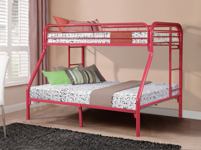Donco Kids T/F Metal Bunk Bed Pink 4502-3HP