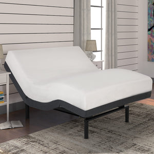 Leggett & Platt S-Cape 2.0 Adjustable Bed Base w/ Full Body Massage, Gray Finish, Split California King - 11