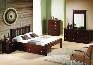 Donco Kids Full Contempo Bed 500-FCP-Panel Beds-HipBeds.com