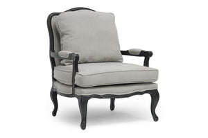 Baxton Studio Antoinette Classic Antiqued French Accent Chair