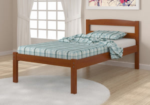 Donco Kids Twin Econo Bed Light Espresso 575-TE-Panel Beds-HipBeds.com