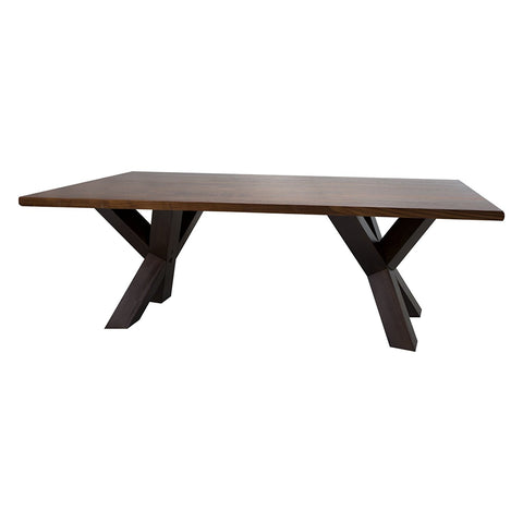 "American Trails Ridgefield Coffee Table with 1"" Thick Solid Walnut Wood Top - 625-23-Tables-HipBeds.com"