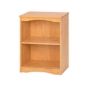 "Camaflexi Bookcase - Essentials Wooden Bookcase 23"" Wide - Natural Finish - 4171-Bookcase-HipBeds.com"
