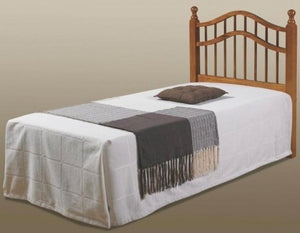 Donco Kids Twin Double Rail Headboard Honey 710-TH-Headboards & Footboards-HipBeds.com