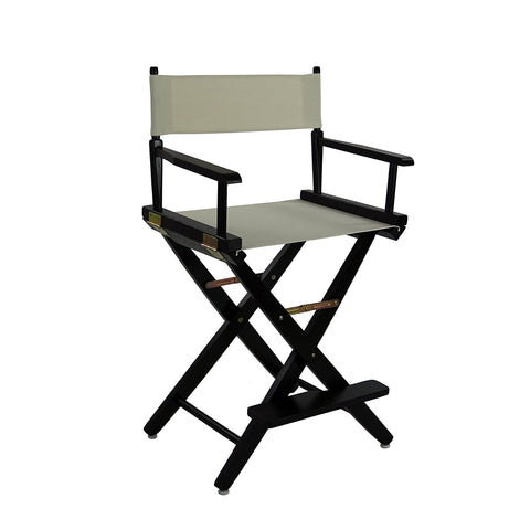 "American Trails Extra-Wide Premium 24"" Directors Chair Black Frame W/Red Color Cover - 206-22/032-11-Chairs-HipBeds.com"