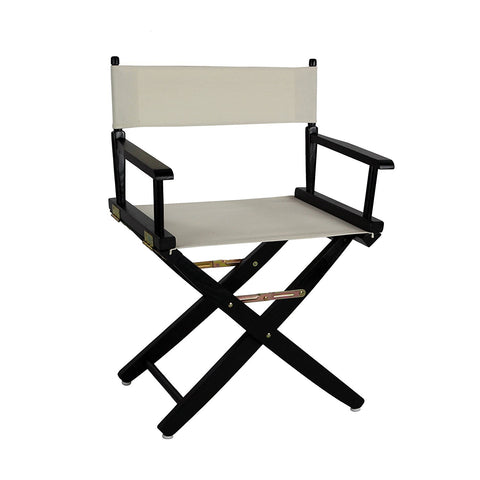"American Trails Extra-Wide Premium 18"" Directors Chair Black Frame W/Red Color Cover - 206-02/032-11-Chairs-HipBeds.com"