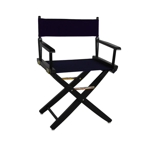 "American Trails Extra-Wide Premium 18"" Directors Chair Natural Frame W/Hunter Green Color Cover - 206-00/032-32-Chairs-HipBeds.com"