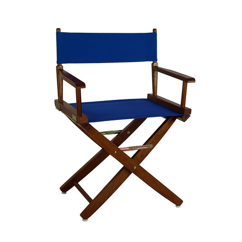 "American Trails Extra-Wide Premium 18"" Directors Chair Mission Oak Frame W/Natural Color Cover - 206-04/032-12-Chairs-HipBeds.com"