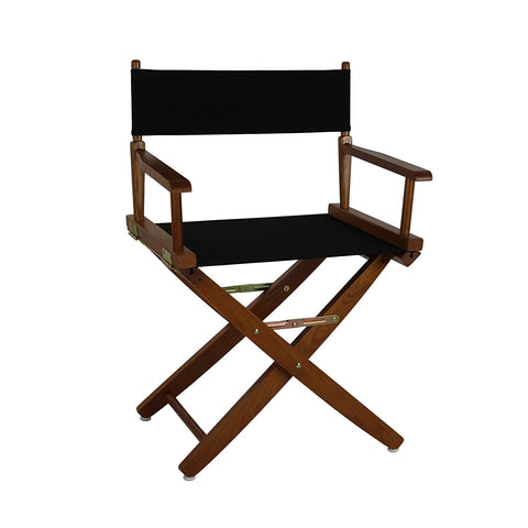 "American Trails Extra-Wide Premium 18"" Directors Chair Mission Oak Frame W/Royal Blue Color Cover - 206-04/032-13-Chairs-HipBeds.com"
