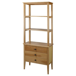 American Trails Edison Bookcase with Drawers with Solid American Maple - 328-40-Bookcases-HipBeds.com