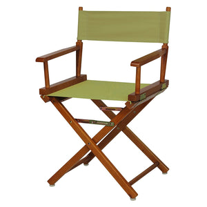 "Casual Home 18"" Director's Chair Honey Oak Frame-Tan Canvas - 200-55/021-24-Chairs-HipBeds.com"