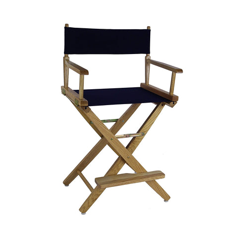 "American Trails Extra-Wide Premium 18"" Directors Chair Mission Oak Frame W/Hunter Green Color Cover - 206-04/032-32-Chairs-HipBeds.com"