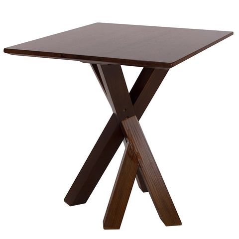 "American Trails Ridgefield End Table with 1"" Thick Solid Walnut Wood Top - 625-13-Tables-HipBeds.com"