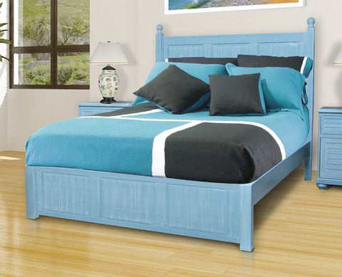 Chelsea Home Palmetto Beach King BED - 771010-66-KG-Panel Beds-HipBeds.com