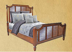 Chelsea Home Cape Cod King BED - 775000P-66KG-Panel Beds-HipBeds.com