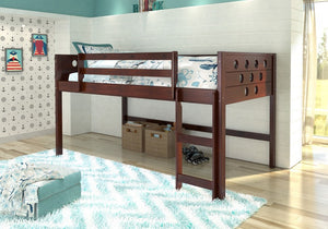 Donco Kids Circles Low Loft Bed 780-A-TCP-Loft Beds-HipBeds.com