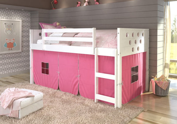 Lowest Price Donco Kids Twin Circles Low Loft Bed 780a Tw