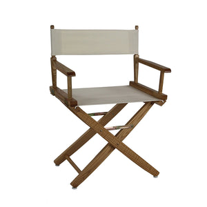 "American Trails Extra-Wide Premium 18"" Directors Chair Natural Frame W/Red Color Cover - 206-00/032-11-Chairs-HipBeds.com"