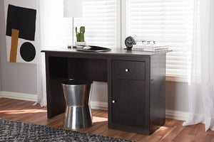 Baxton Studio Belora Modern and Contemporary Wenge Brown Finished Desk Image 3