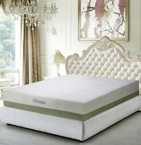 Meridian Aloe Vera Queen Mattress - Aloevera-Q-Mattresses-HipBeds.com