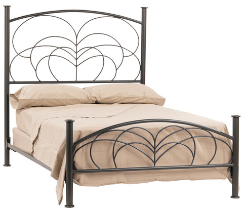 Stone County Ironworks Willow Iron Twin Bed - 902-070-Panel Beds-HipBeds.com