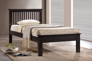 Donco Kids Twin Houston Bed Chocolate 970-TC-Panel Beds-HipBeds.com