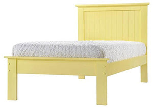 Donco Kids Twin Joshua Ii Bed Yellow 985-TY-Panel Beds-HipBeds.com