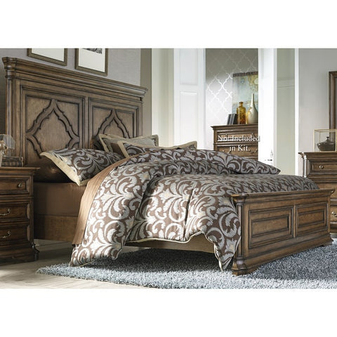 Liberty Furniture Amelia Antique Toffee Panel Bed - 487-BR-XPB-Panel Beds-HipBeds.com