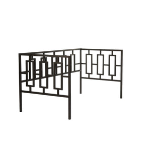 Leggett & Platt Miami Metal Daybed Frame w/ Squared Tubing, Coffee Finish, Twin-Daybeds-HipBeds.com