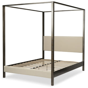 Leggett & Platt Avalon Canopy Platform Bed, Queen-Beds-HipBeds.com