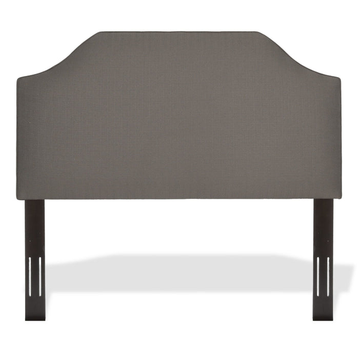 Leggett & Platt Bordeaux Upholstered Adjustable Headboard Panel w/ Solid Wood Frame, Full / Queen
