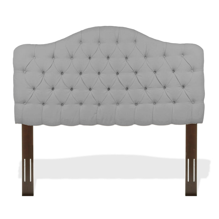 Leggett & Platt Martinique Upholstered Adjustable Headboard Pane, Putty Finish, Twin