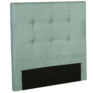 Leggett & Platt Henley Upholstered Kids Headboard Panel w/ Button Tufted Design, Celery Green Finish, Twin-Headboards & Footboards-HipBeds.com