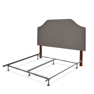 Leggett & Platt Bordeaux Bed w/ Upholstered Headboard & 45G Steel Support Frame, Twin-Beds-HipBeds.com
