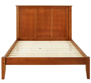 Camaflexi Bed - Shaker Style Panel King Size Platform Bed - Cherry Finish  - SHK315-Bed-HipBeds.com