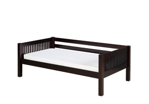 Camaflexi Day Bed - Mission Headboard - Cappuccino Finish - C212_CP-Day Beds-HipBeds.com