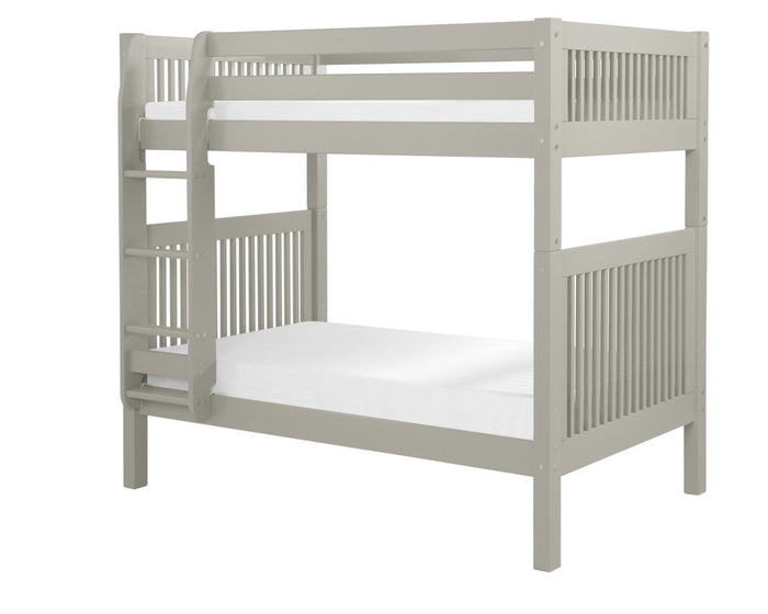 Camaflexi Bunk Bed - Mission Headboard - Grey Finish - C914_GY