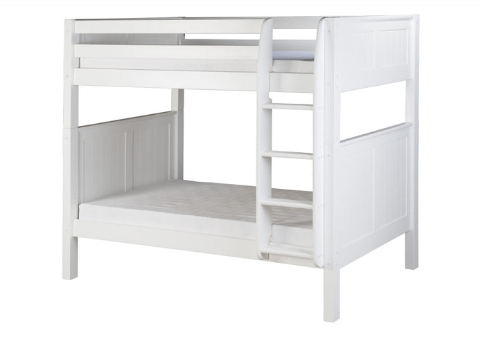 Camaflexi Bunk Bed - Panel Headboard - White Finish - C923_WH