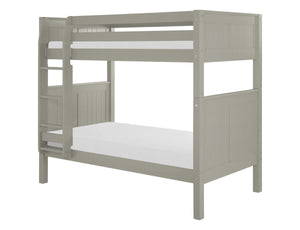 Camaflexi Bunk Bed - Panel Headboard - Grey Finish - C924_GY-Bunk Beds-HipBeds.com