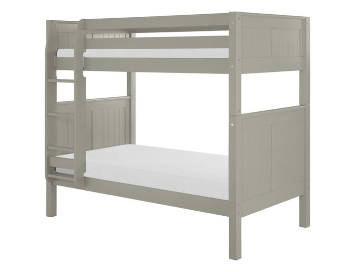 Camaflexi Bunk Bed - Panel Headboard - Grey Finish - C924_GY