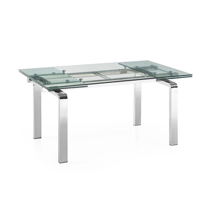 Casabianca CLOUD Stainless Steel Dining Table - CB-D2048-SS