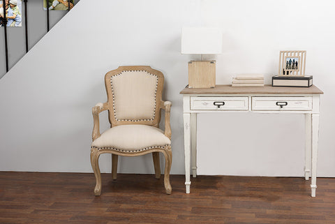 Baxton Studio Dauphine Traditional French Accent Writing Desk-Tables-HipBeds.com