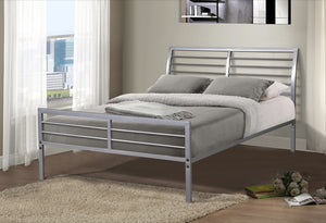 Donco Kids Full Bed Silver CS3057FSL-Minimalist Beds-HipBeds.com