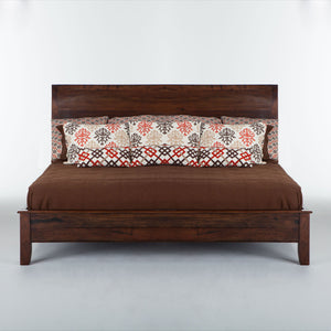 Home Trends & Design Casablanca California King Bed - FCB-PBKCALSCN-Panel Beds-HipBeds.com