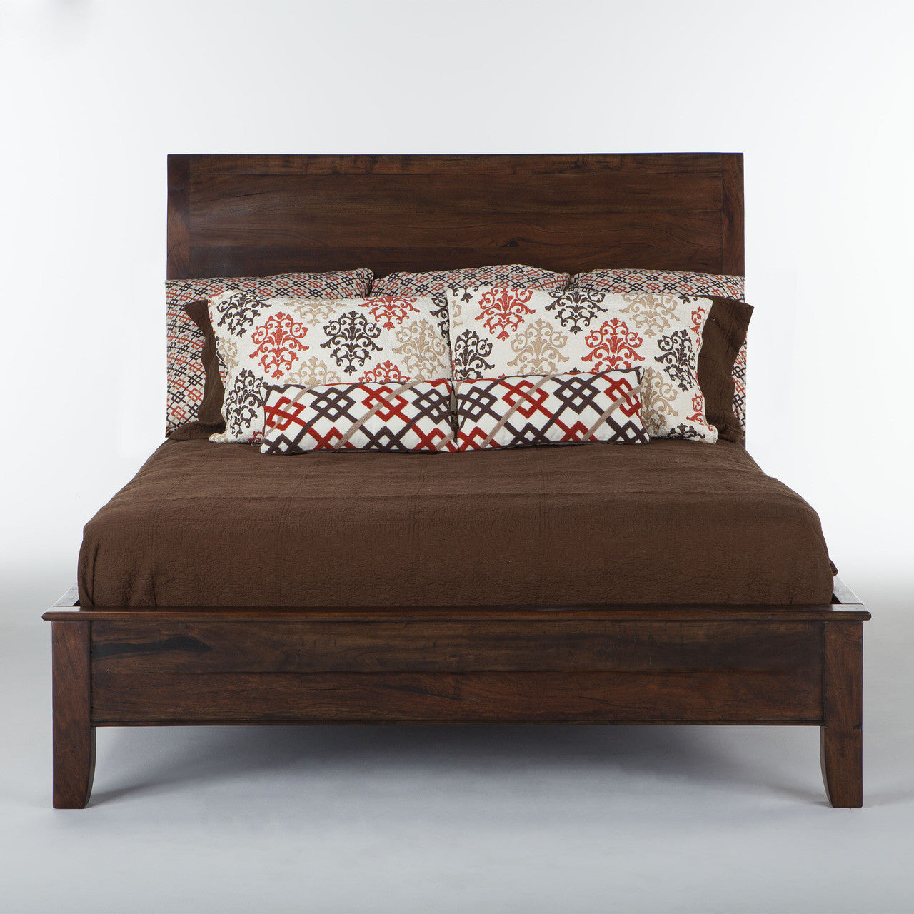 Home Trends & Design Casablanca Queen Sleigh Bed - FCB-PBQSCN ...