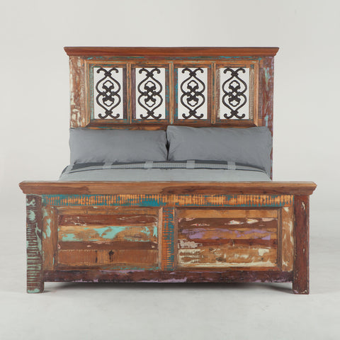 Home Trends & Design Sedona Queen Bed - FSD-PBQ-Panel Beds-HipBeds.com