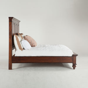 Home Trends & Design Tuscan Platform King Bed - FTV-PBKP-Panel Beds-HipBeds.com