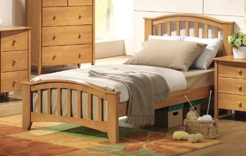 ACME San Marino Twin Bed Maple - 08940T-Panel Beds-HipBeds.com