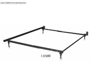 Donco Kids Twin/Full/Queen Bed Frame I-3350RR-Bed Frames-HipBeds.com