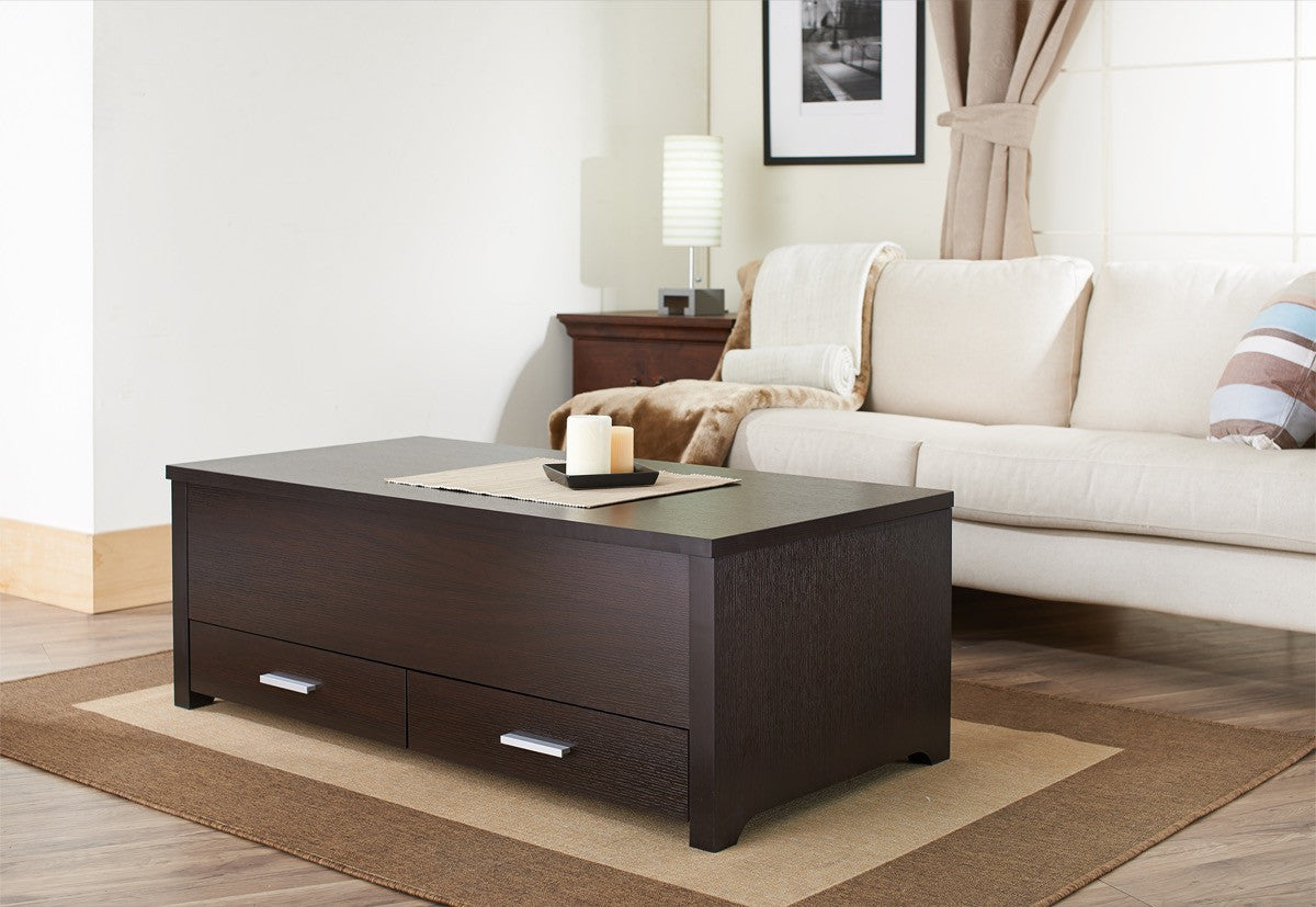 Expresso Coffee Table.Furniture Of America Vinelli Sliding Top Panel Coffee Table Espresso